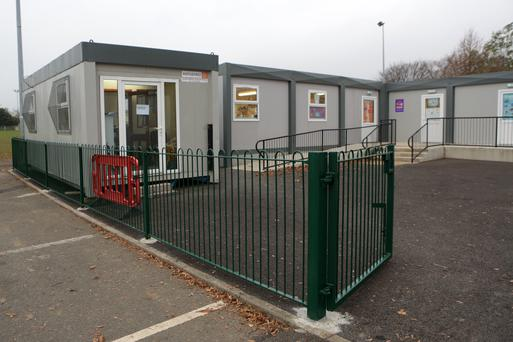 The school is currently located in prefabs at the rugby club.