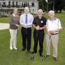 Annette Deignan, general manager Gavin Hunt, Stephen Barry and Des Doran invite you to the Golf Classic on the 3rd September at Powerscourt Golf Club with the friends of Ben Melia in conjunction with Enniskerry Youth Club