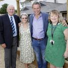 Denzil and Hazel Tipping, Denis's parents', with Denis O'Reilly from Difference Days and Hilary Flynn from Loughlinstown Hospital