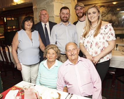 Patricia and Eric Montgomery with Trish Costigan, Martin Lyons,Nick O'Halloran, Robert Costigan and Donna Costigan