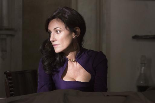 Orla Brady, who grew up in Bray, playing Lydia in 'Into the Badlands'