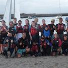 Members of Bray Lakers with members of Bray Sailing Club at the Try Sailing course
