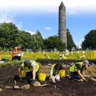 Excavations at Glendalough as part of National Heritage Week 2016