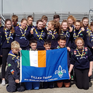 Sea scouts from Tiller Troop of the 9th Wicklow, Arklow Scout Group