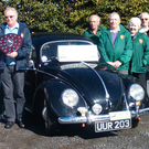 Members of Bray Vintage Club at the launch of the ninth Original Garden of Ireland Vintage Run, which takes place later this month