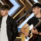 The Price brothers auditioning for X Factor.