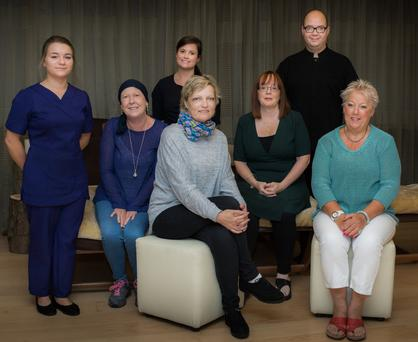 Staff from the Druids Glen Hotel who took part in the 'Wellness for Cancer Care' training course.
