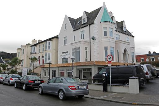 The Strand Hotel in Bray