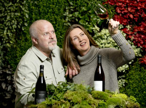 Brett Stephenson and Pamela Walsh of Wicklow Way Wines