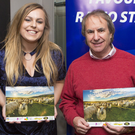 Richard Kelly, Claire Hogan, Chris de Burgh and Marlena Murphy at the launch of the Wicklow Calendar in the Powerscourt Arms