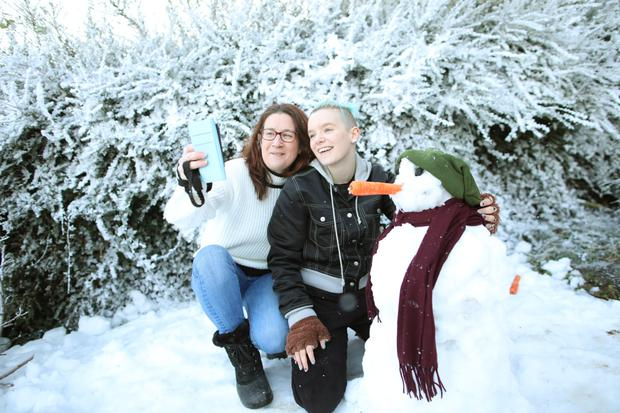 White Christmas Snow.Tk Maxx Gives One Bray Family A White Christmas Independent Ie