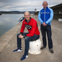 Paul O'Connor and Mick Nolan from Wicklow Triathlon Club