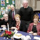 Noel Paul, James Byrne, Rita Paul, Tommy Coleman and Jane Coleman