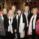 Tara Murray, Margaret Byrne, Elly Fairbairn, Maria Keogh, Vanessa Davis, May Watson from Le Chéile Community Choir in the Holy Redeemer in Bray
