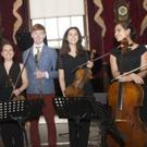 Musicians taking part in the 2017 West Wicklow Music Festival at Russborough House, including founder Fiachra Garvey (second from left)