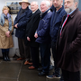 Maura Donnelly, former president; George Sheehan, council president; John Byrne and John O'Brien, honorary life members of the council; Derek Casserly, SIPTU; and Jack O'Connor, former SIPTU president