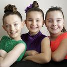 Xquisite members Mia Jameson, Katie Goulding and Freya Roche from Rathnew.