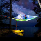 Tipi Adventures near Rathdrum are launching their new Tentsile tree tents which, along with their chill-out hammocks, will allow customers to live among the trees.