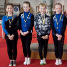 Under 11 girls winners – Orlaith Holt (first), Grace O'Connor (second), Layla Cahill and Faye Kenny (joint-third) – and boys winners Darragh Furlong (first) and Reuben Factor (second).