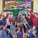 Members of MYTh Academy in rehearsals for their production of 'Joseph and the Amazing Technicolor Dreamcoat', which begins next Wednesday, April11