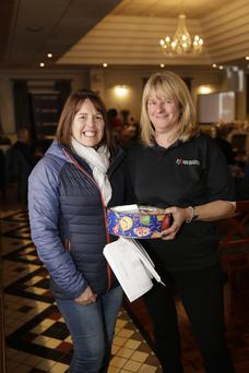 Annmarie Hayes of Kilmac CFR and Shauna Pearse.