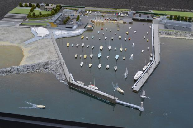 Plans for Bray Harbour as envisioned by the Bray Harbour Joint Development Committee