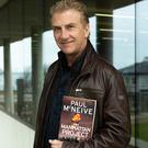 Paul McNeive with his new book, 'The Manhattan Project'.