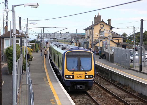 'From last night, an additional security team was deployed across the northside, with extra resources at the remote monitoring centre, which covers CCTV across the Dart system' (stock photo)