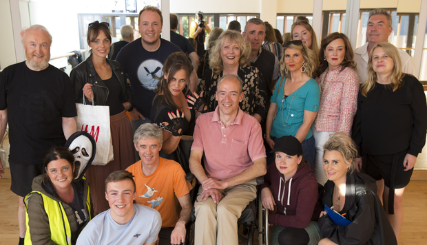 The cast of 'Summer Shorts' with Greystones Players at the Whale Theatre