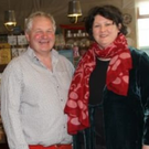Rebecca Allen and Phillip Hadden of The Farm Shop in Tinahely