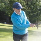 Club member Mairéad ÓToole on the course