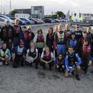 Instructors and participants of the Lakers at Sea programme.
