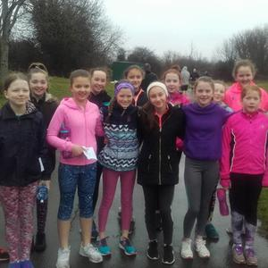 Participants taking part in the Shanganagh Park Run recently.