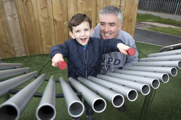 Cillian and Shane Curtis