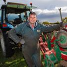 Paul Doran at the ploughing championships