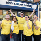 Volunteers Alan Gormley, Marta Duffy, Adam Kelly, Sinead Connick and Paul Hartnett