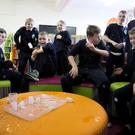 Sixth class pupils from St Peter's NS having fun with science at the launch of the 2019 ESB Science Blast
