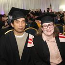 Josie Somosierra from Kilcoole and Emily Savage from Gorey, both graduated in Computer Systems and Netv. Level 5.