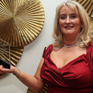 Lisa Lucey from Lucey Dental with her Colgate Leinster Dentist of the Year Award
