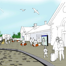 An artist's impression of the planned scheme