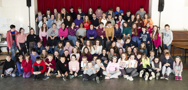 The cast of Sheevawn Youth Musical Theatre's production of Cats