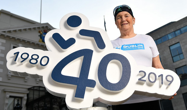 Mary Nolan Hickey, who has competed in all 39 Dublin marathons since 1979, helping organisers to announce an extra 2,500 spots for this year's event