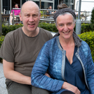 George and Dorothy Jacob, organisers and founders of Bray Jazz Festival