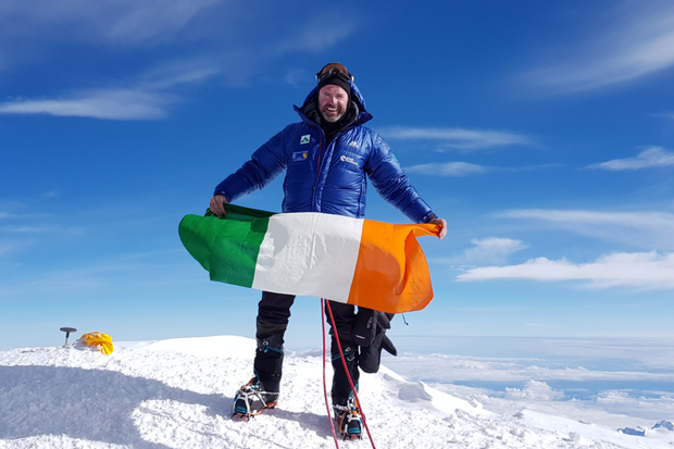Bray man Seamus Lawless, who fell while descending Mount Everest last week