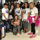 Six of Bobby Messett's friends and family on their journey to Spain to walk the Camino