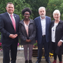 Cllr Paul O'Brien,Anne Waithira Burke, Jack O'Connor, Cllr Anne Ferris and Ian McGahon