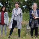 Aoife Duffin, Clodagh Bowyer and Deirdre Donnelly in a scene from 'The Ferry'