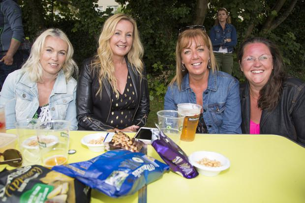 Susan O'Neill, Shirley O'Neill, Michelle Esmonde and Lynda Patterson at Summerland