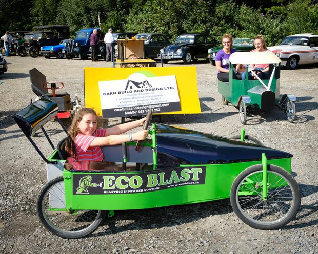 Last year's soapbox race winner, Heidi Doran is ready for the competition this year.