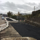 Works at the cycle path